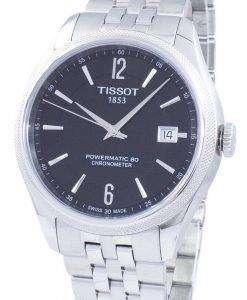 ティソ T-クラシック バラード Powermatic 80 クロノメーター自動 T108.408.11.057.00 T1084081105700 メンズ腕時計