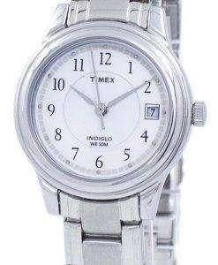 Timex クラシック Indiglo 石英 T29271 レディース腕時計