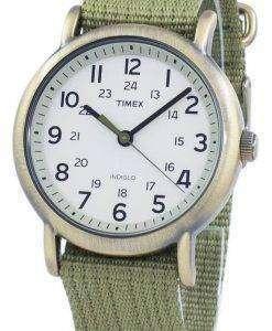タイメックス ウィークエンダー Indiglo クオーツ T2N894 ユニセックス腕時計