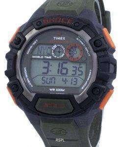 タイメックス遠征世界衝撃時間 Indiglo デジタル T49972 メンズ腕時計