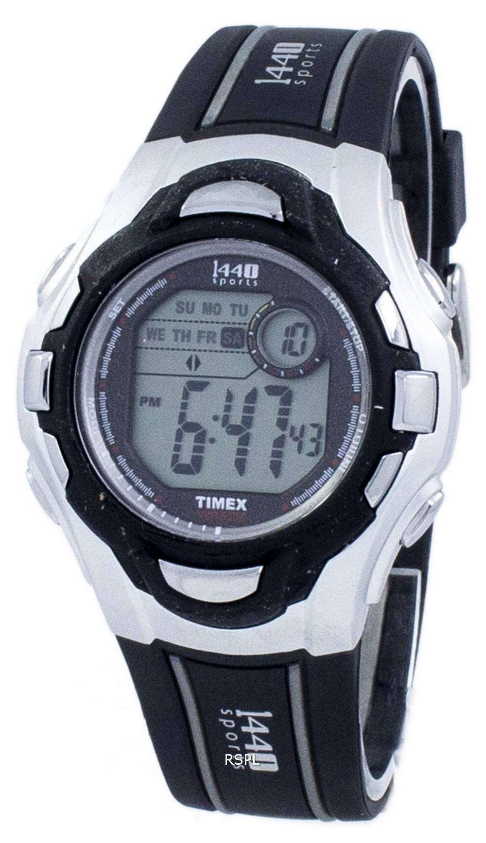 タイメックス 1440 スポーツ Indiglo デジタル T5H091 メンズ腕時計