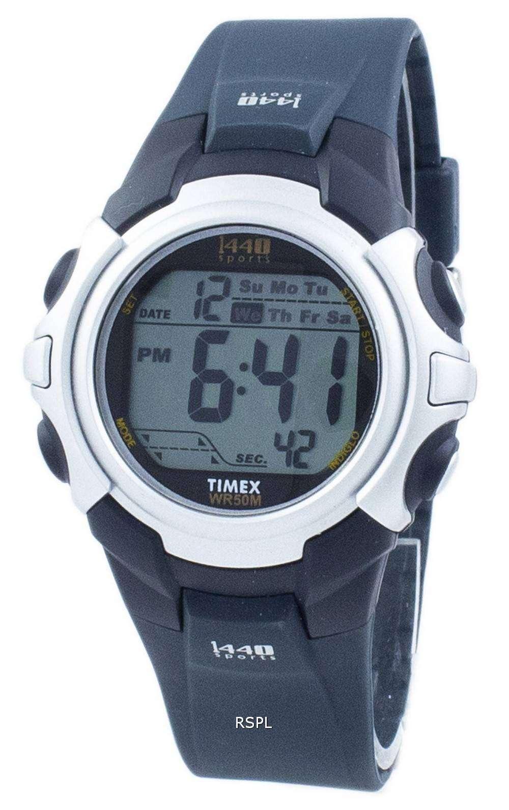 タイメックス 1440 スポーツ Indiglo アラーム Wi-fi デジタル T5J571 メンズ腕時計
