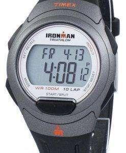 Timex は、タイメックス アイアンマン トライアスロン 10 ラップ Indiglo デジタル T5K607 メンズ腕時計をスポーツします。