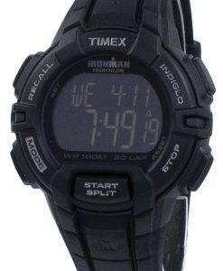 タイメックスは、アイアンマン トライアスロン頑丈な 30 ラップ Indiglo デジタル T5K793 メンズ腕時計をスポーツします。