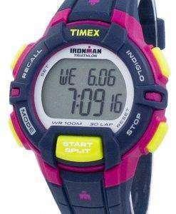 タイメックスは、アイアンマン トライアスロン頑丈な 30 ラップ Indiglo デジタル T5K813 レディース腕時計をスポーツします。