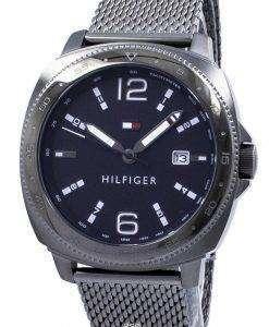 トミー ヒルフィガー アナログ クオーツ タキメーター 1791427 メンズ腕時計