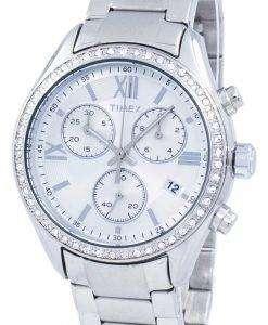 タイメックス マイアミ クロノグラフ クォーツ ダイヤモンド アクセント TW2P66800 レディース腕時計