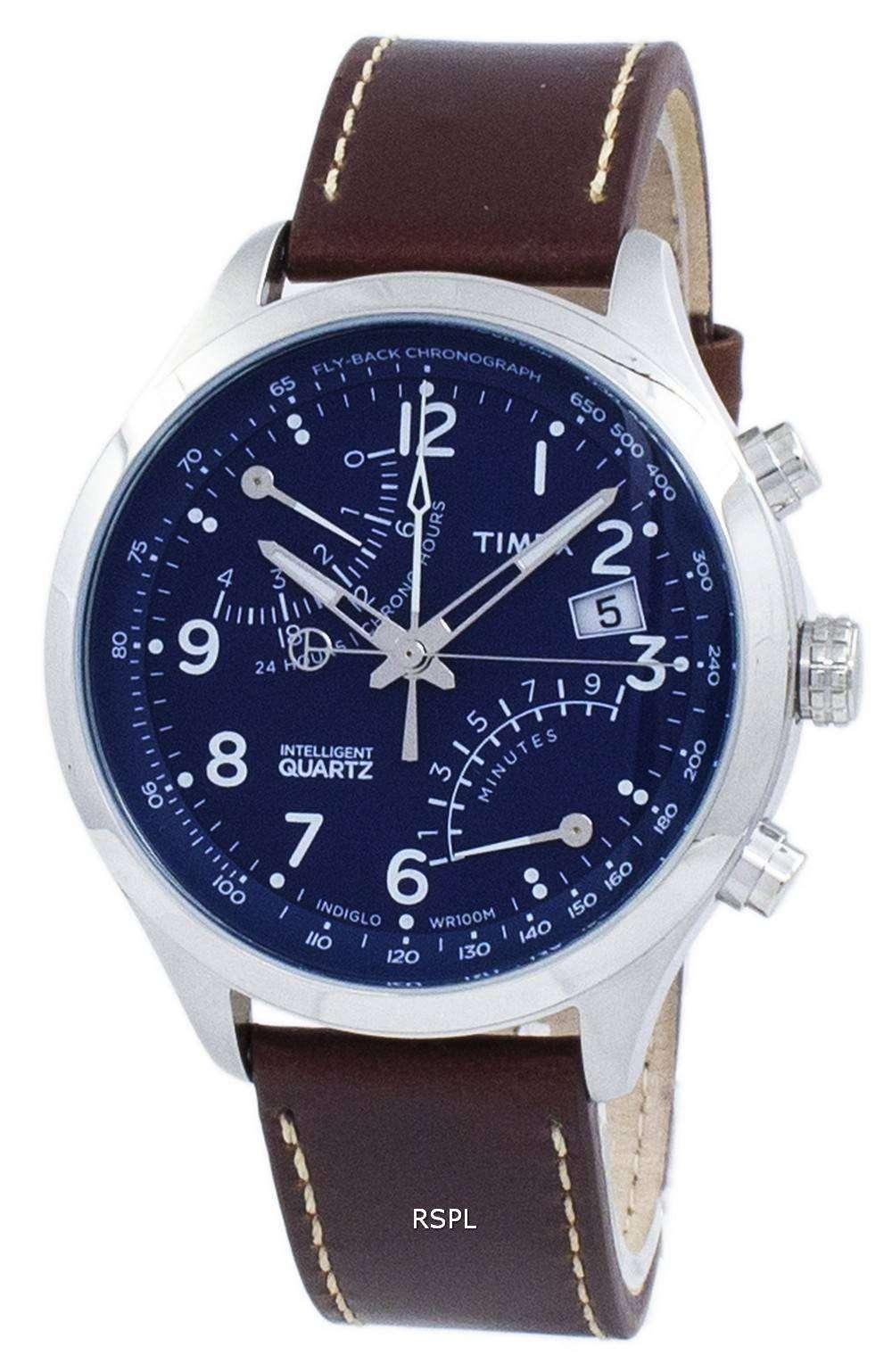 タイメックス インテリジェント フライバック ・ クロノグラフ クォーツ Indiglo TW2P78800 メンズ腕時計