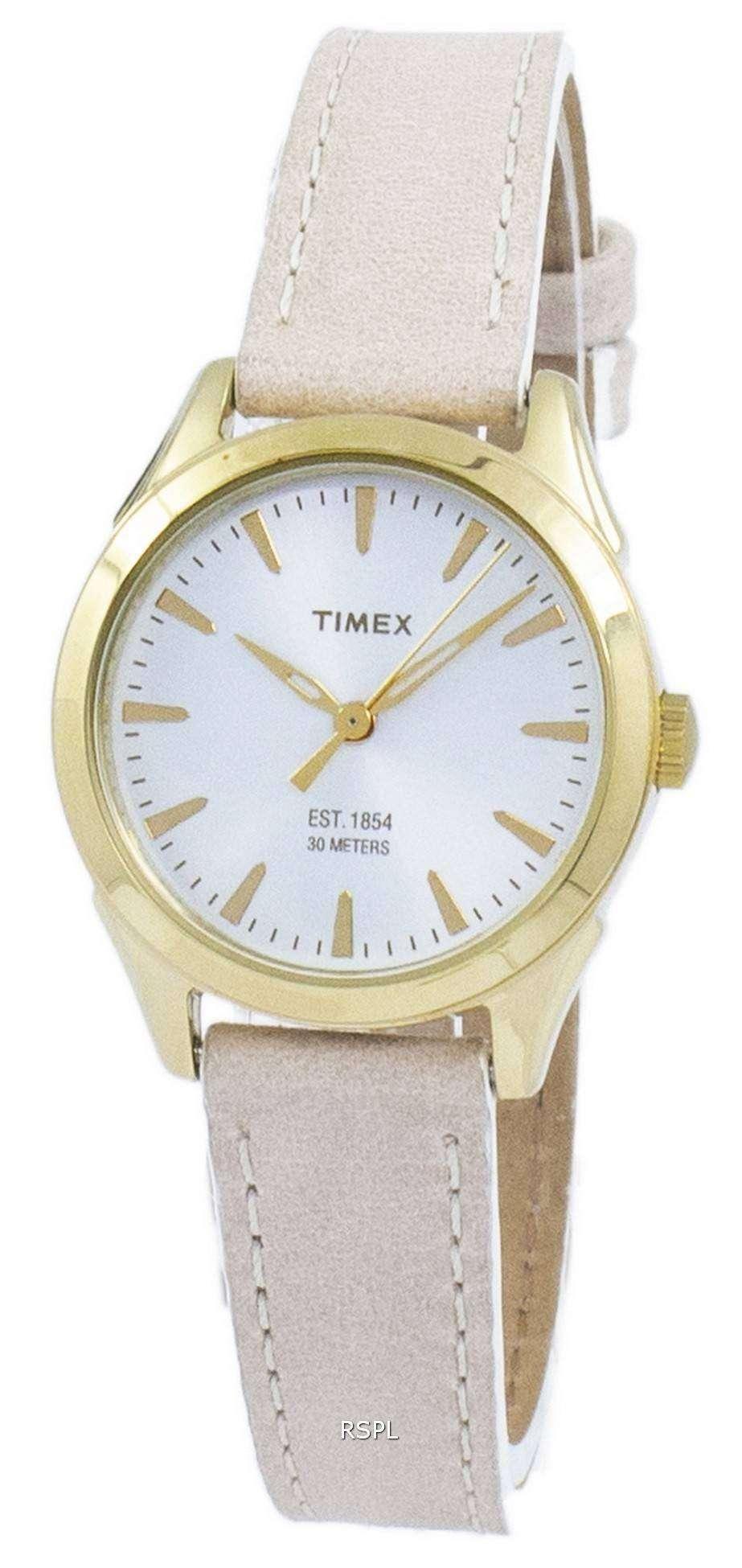 タイメックス チェサピーク古典的な石英 TW2P82000 レディース腕時計