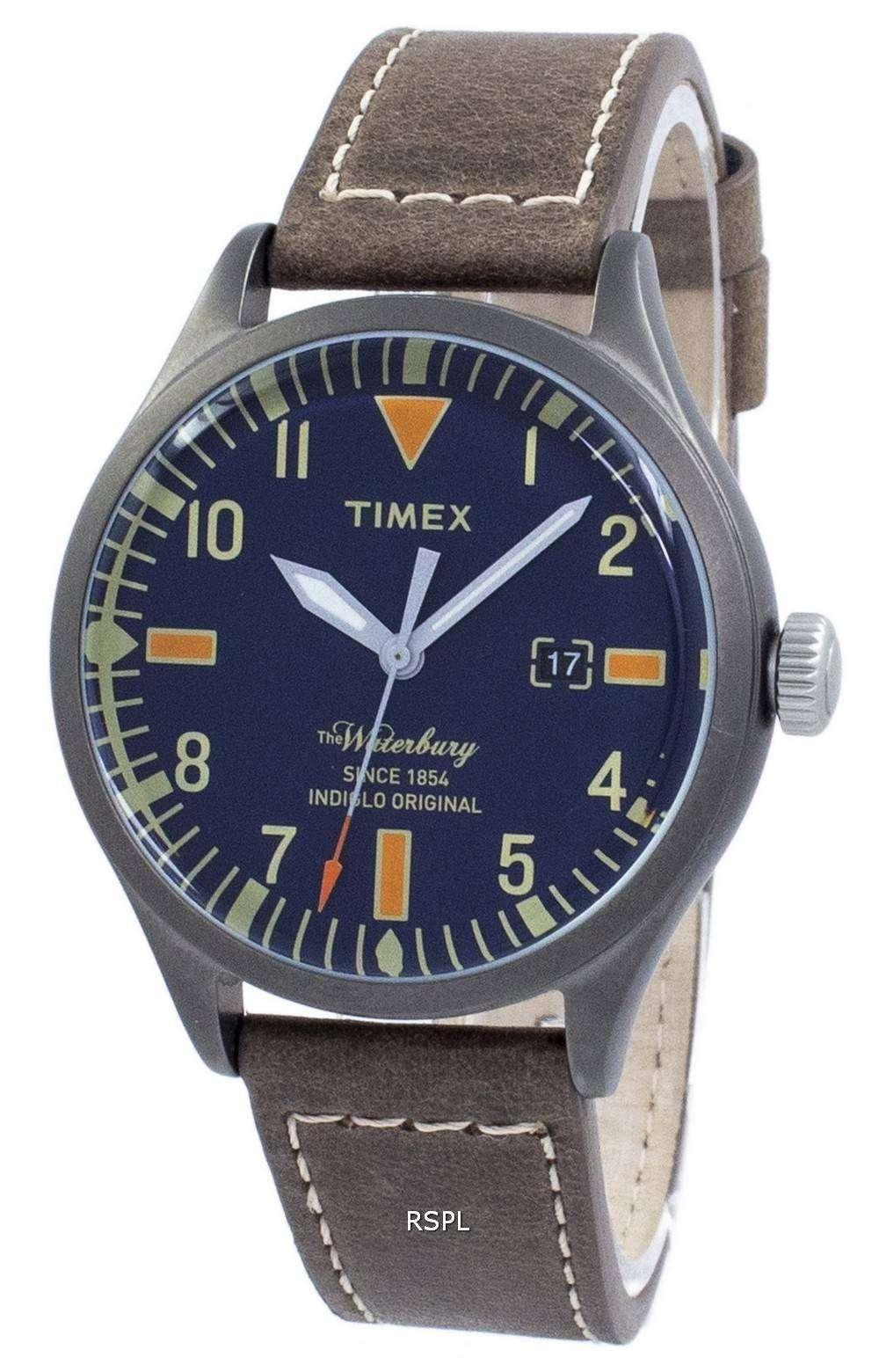 タイメックス ウォーターベリー Indiglo オリジナル水晶 TW2P83800 メンズ腕時計