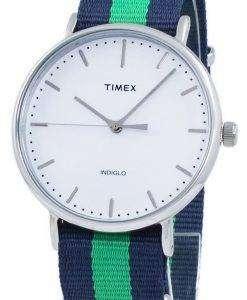 タイメックス ウィークエンダー フェア フィールド Indiglo クオーツ TW2P90800 ユニセックス腕時計