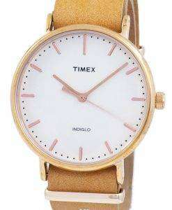タイメックス ウィークエンダー フェア フィールド Indiglo クオーツ TW2P91200 ユニセックス腕時計