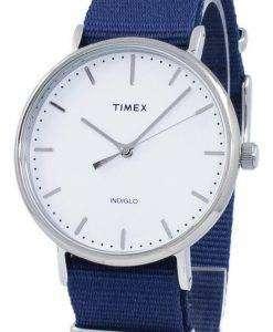 タイメックス ウィークエンダー フェア フィールド Indiglo クオーツ TW2P97700 ユニセックス腕時計