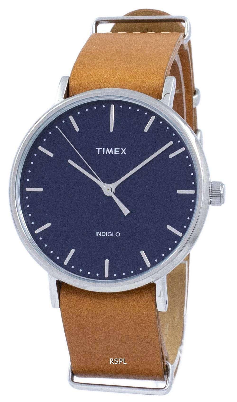 タイメックス ウィークエンダー フェア フィールド Indiglo 石英 TW2P97800 メンズ腕時計