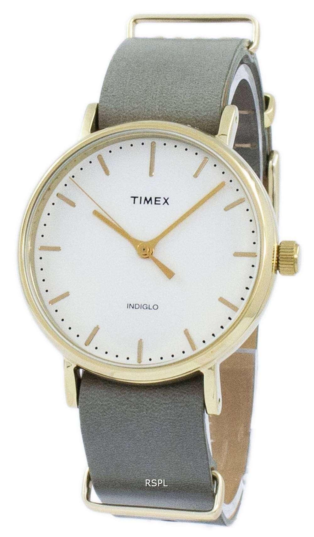 タイメックス ウィークエンダー フェア フィールド Indiglo クオーツ TW2P98500 ユニセックス腕時計