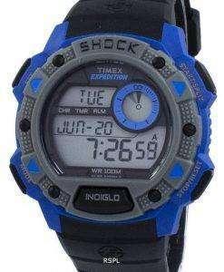 タイメックス遠征基本ショック Indiglo デジタル TW4B00700 メンズ腕時計