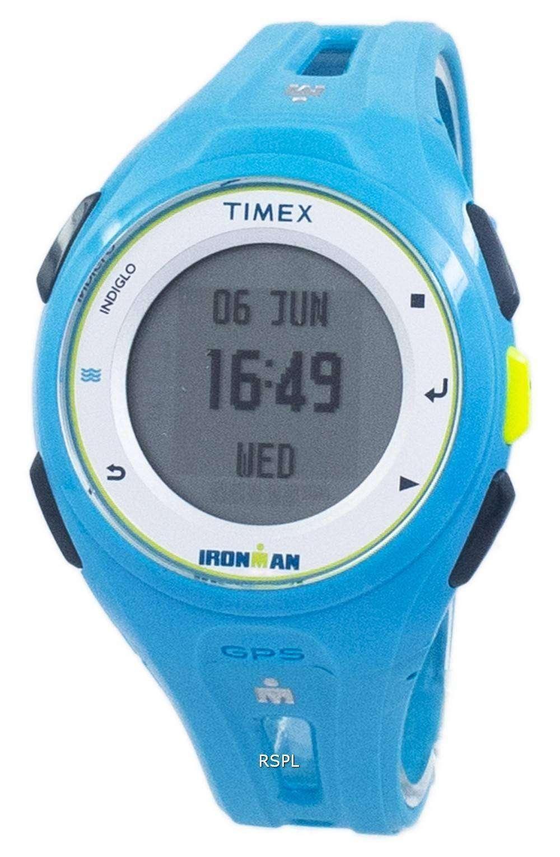 タイメックスアイ アンマン実行 X20 GPS Indiglo デジタル TW5K87600 ユニセックス ウォッチ