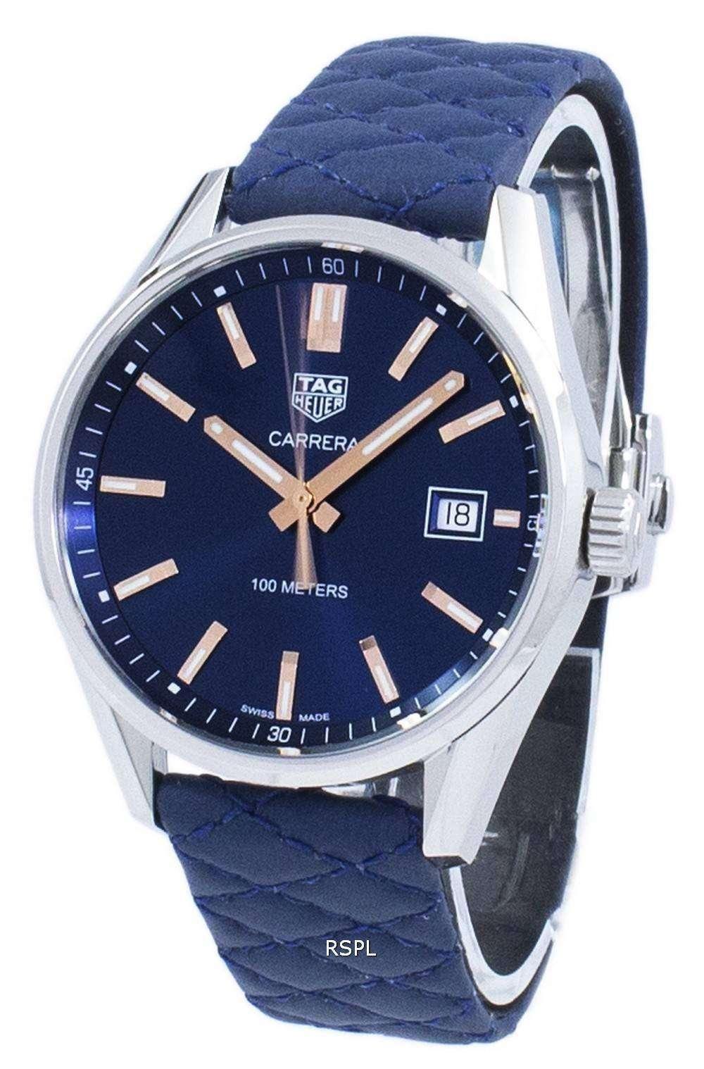 タグ ・ ホイヤー カレラ水晶 WAR1112。FC6391 メンズ腕時計