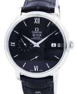 オメガ デビル プレステージ コーアクシャル パワー リザーブ クロノメーター 424.13.40.21.01.001 メンズ腕時計