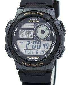 カシオ青少年デジタル世界時 AE 1000 w 1AV メンズ腕時計