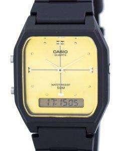 カシオ アナログ デジタル クオーツ デュアル タイム AW 48HE 9AVDF AW 48HE 9AV メンズ腕時計