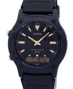 カシオ アナログ デジタル クオーツ デュアル タイム AW 49HE 1AVDF ダブリュ-49HE-1AV メンズ腕時計
