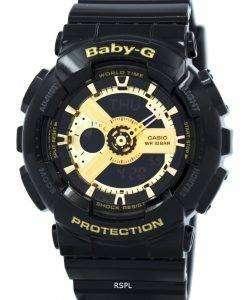 カシオベビー-G 世界時間アナログ デジタル BA-110-1 a レディース腕時計