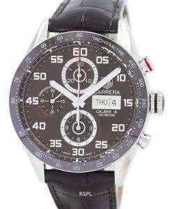 タグ ・ ホイヤー カレラ クロノグラフ自動 CV2A1S。FC6236 メンズ腕時計