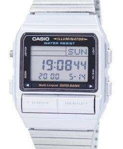 カシオ デジタル 5 アラーム多言語データ ・ バンク DB 380 1DF DB-380-1 メンズ腕時計
