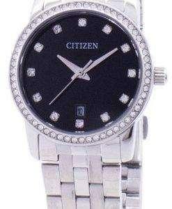 市民水晶ダイヤモンド アクセント EU6030 56E レディース腕時計