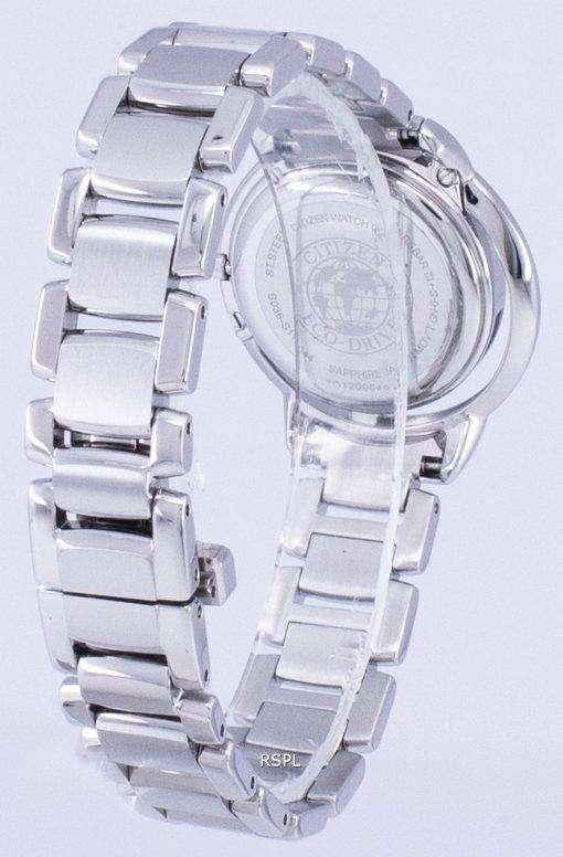 市民 L 日の出ソリテア エコドライブ EW5520 50E レディース腕時計