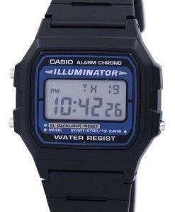 カシオ デジタル クオーツ クロノ アラーム照明 F 105 w 1ADF F 105 w 1 メンズ腕時計