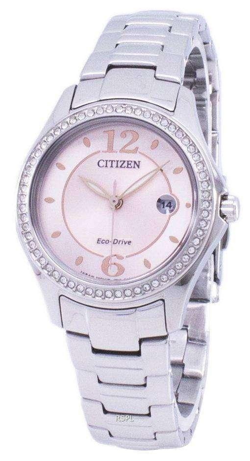市民エコドライブ ダイヤモンド アクセント FE1140 - レディース腕時計 X 86