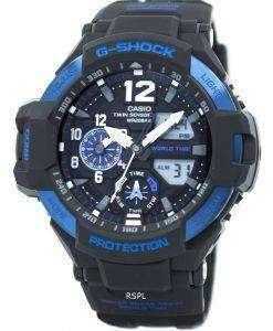 カシオ G ショック GRAVITYMASTER ツイン センサー世界時間 GA-1100年-2B メンズ腕時計