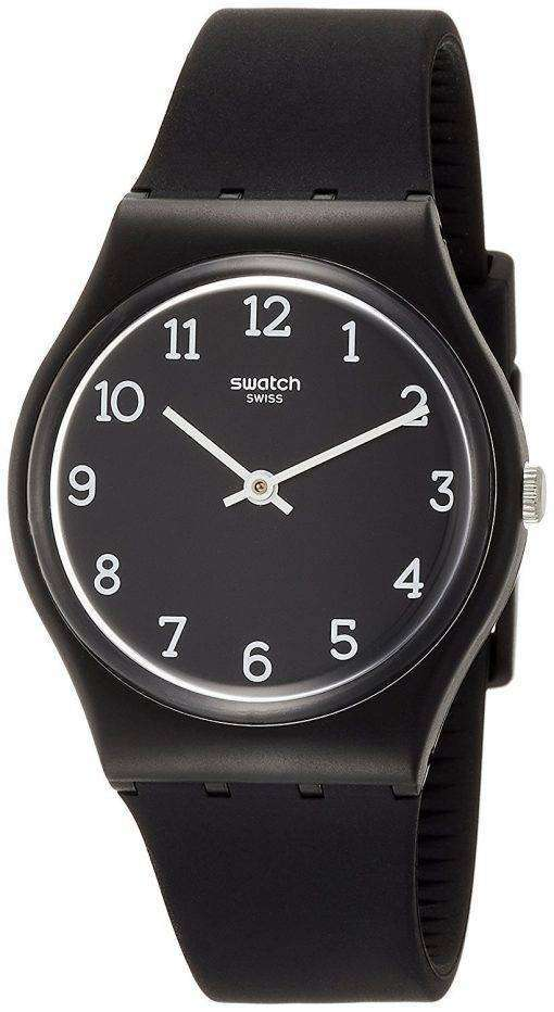 スウォッチ オリジナル Blackway アナログ クオーツ GB301 メンズ腕時計