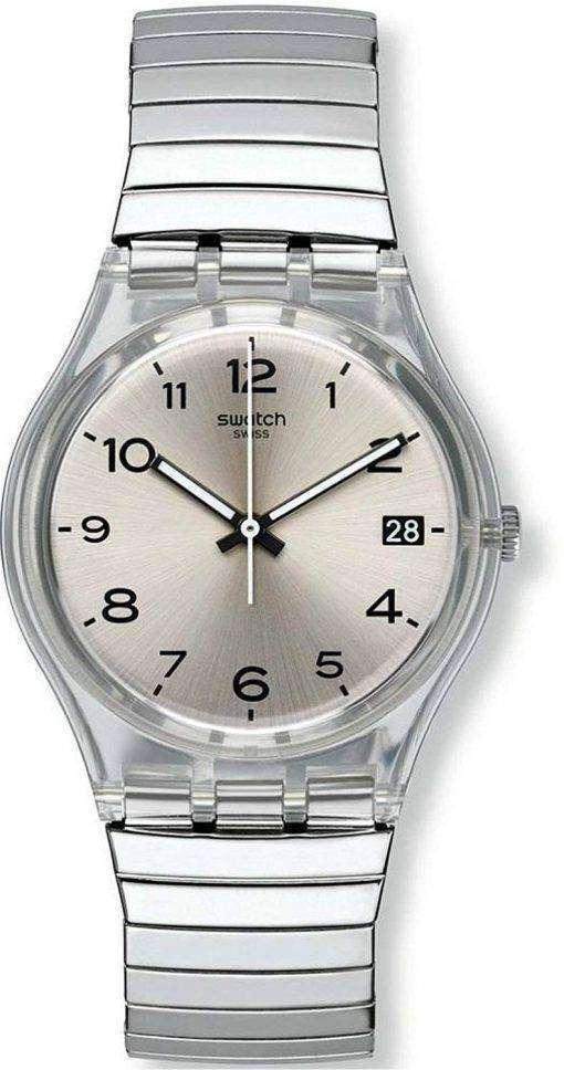 スウォッチ オリジナル Silverall アナログ クオーツ GM416B ユニセックス腕時計