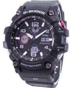 カシオ G ショック Mudmaster タフ ソーラー 200 M GSG 100 1A8 GSG100 1A8 メンズ腕時計
