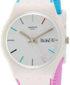 スウォッチ オリジナル Edgyline アナログ クオーツ GW708 メンズ腕時計