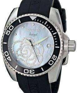 インビクタ天使キュービックジルコニア花水晶 0487 レディース腕時計