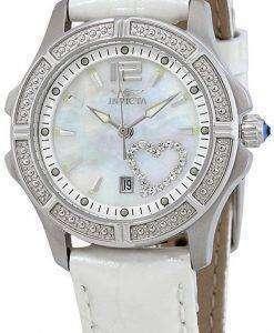 インビクタ ワイルドフラワー ダイヤモンド アクセント石英 1029 レディース腕時計