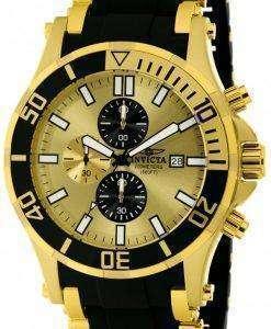 インビクタ海蜘蛛クロノグラフ クォーツ 200 M 1478 メンズ腕時計