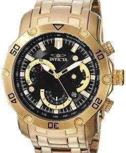 インビクタ Pro ダイバー クロノグラフ タキメーター 22767 クォーツ メンズ腕時計