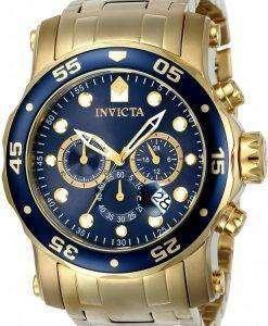 インビクタ Pro ダイバー クロノグラフ クォーツ 200 M 23651 男性用の腕時計