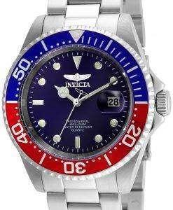インビクタ Pro ダイバー クォーツ 200 M 24946 男性用の腕時計