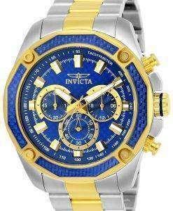 インビクタ飛行士クロノグラフ クォーツ 25975 メンズ腕時計