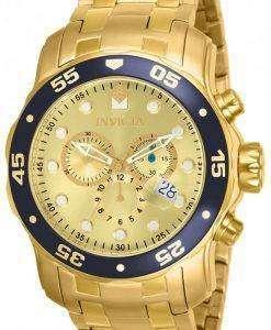 インビクタ Pro ダイバー クロノグラフ クォーツ 200 M 80068 男性用の腕時計