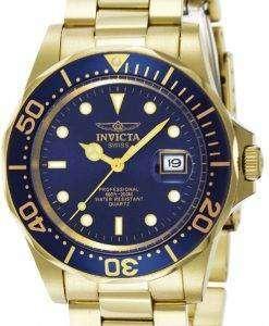 インビクタ Pro ダイバー プロフェッショナル クォーツ 200 M 9312 男性用の腕時計