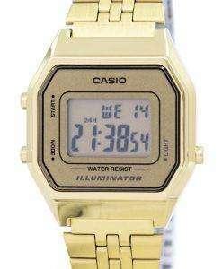 カシオ デジタル クオーツ ステンレス照明 LA680WGA 9DF LA680WGA 9 レディース腕時計