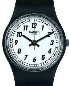スウォッチ オリジナル何か黒のアナログ クオーツ LB184 レディース腕時計