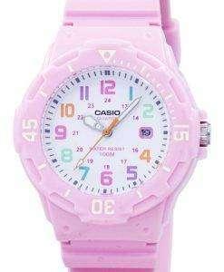カシオ ピンク樹脂ストラップ LRW 200 H 4B2VDF LRW 200 H 4B2V レディース腕時計